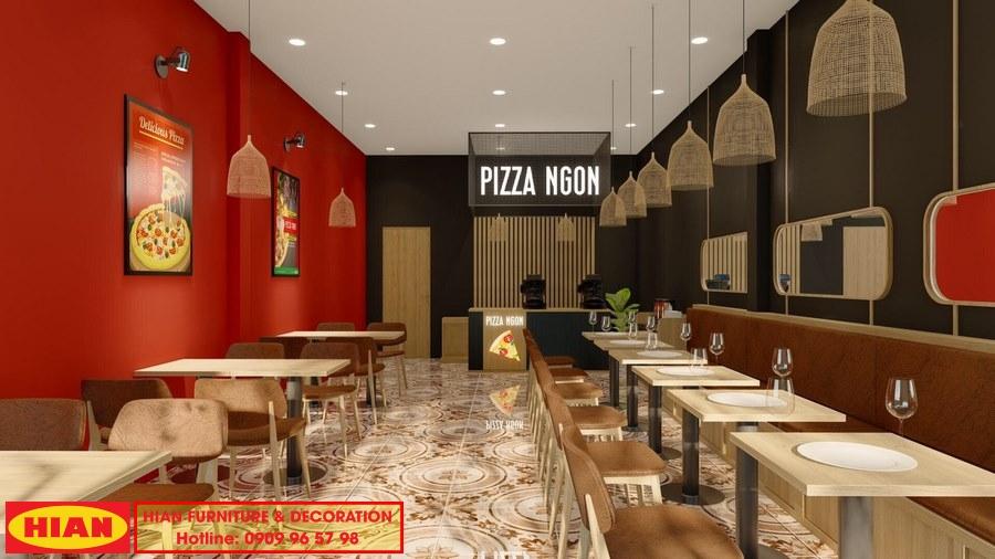 Thiết Kế Cửa Hàng Pizza Ngon