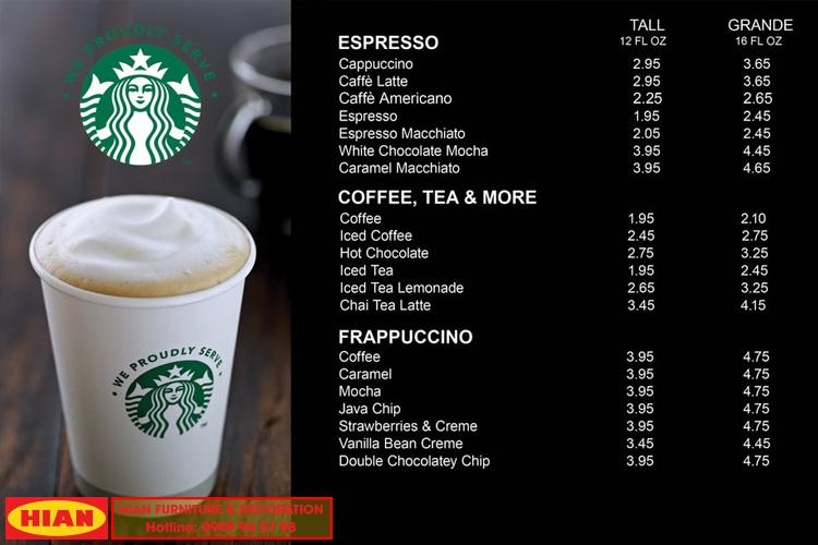 Kinh Nghiệm Kinh Doanh Quán Cafe Starbucks