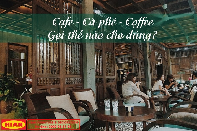 Cà Phê - Cafe - Coffee