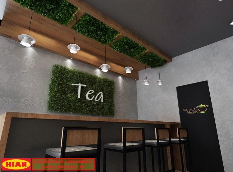 Thiết Kế Quán Cafe Diện Tích Nhỏ