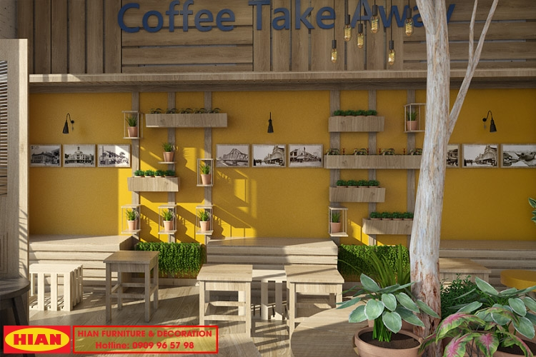 Thiết Kế Quán Cafe Nhỏ Đẹp