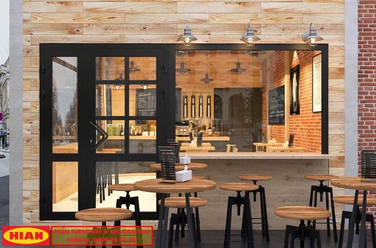 Thiết kế quán cafe 50m2