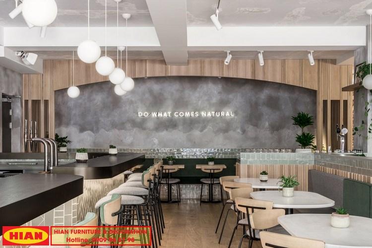 Thiết kế quán cafe năm 2020