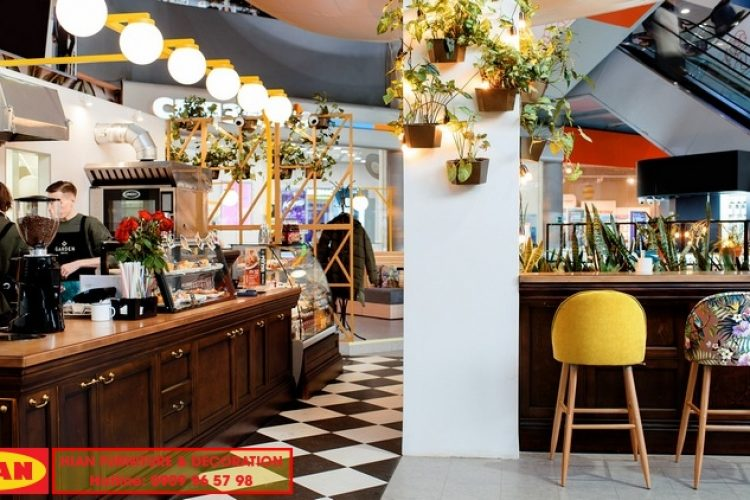Thiết kế quán cafe tại TpHCM